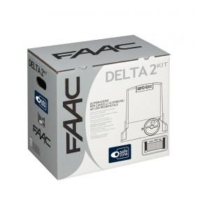 Kit FAAC motore per cancelli scorrevoli 500kg meccanico 105630350