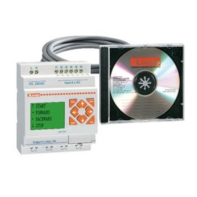 Kit LOVATO with the base module LRD10R A240-software-cable LRDKIT10RA240