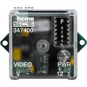Bticino interface for video signal conversion...