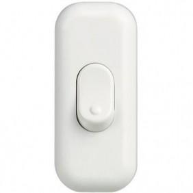 Botón de Bticino agujero 2A blanco 65B