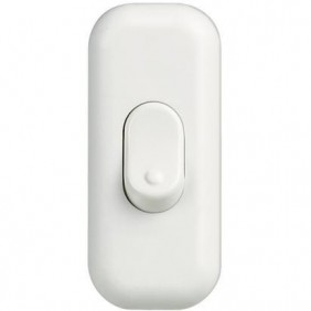 Button Bticino hole 2A white 65B