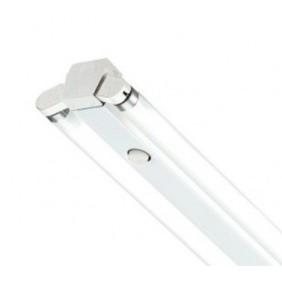 Luz de techo Beghelli 2x18w sin la pantalla, con excepción de neón que miden 60cm 74109