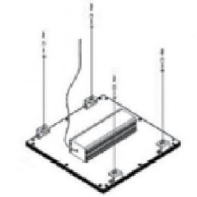 Kit sospensione Nobile per lpx66 AX3