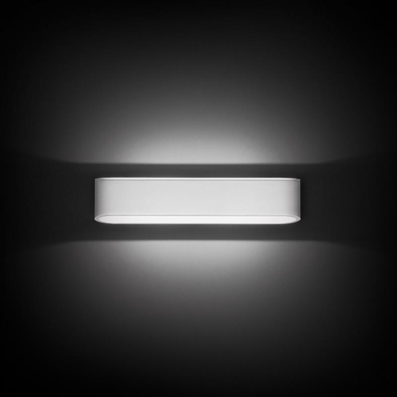 Applique Nobile a parete LED 2X7,5W 3000K verniciato alluminio DL006/AL