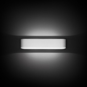 Applique Noble wall LED 2X7,5W, 3000K, painted white DL006/BI