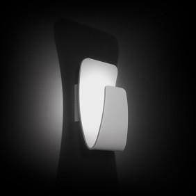 Applique Nobile a parete LED 7,5W 3000K verniciato bianco DL007/BI