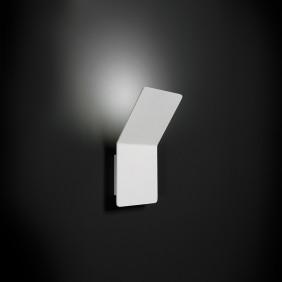 Applique Nobile a parete LED 13W 3000K verniciato bianco DL009/BI