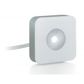 Faretto Nobile 3,3W quadrato luce 3000K a soffitto/parete 247/S