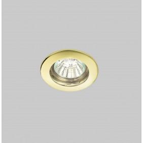 Faretto Nobile incasso oro a soffitto foro 63mm 4111/H/GD
