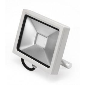 Proiettore Nobile a parete bianco a LED 20W 4000K IP65 421/4K/BI