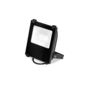 Proiettore Nobile a parete nero a LED 10W 4000K IP65 510/4K