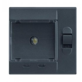 Torch Legrand Vela anthracite removable emergency 2 modules 682917