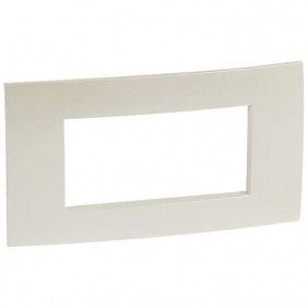 Plaque Legrand Vela quadra pearl metallic 4 modules 685757