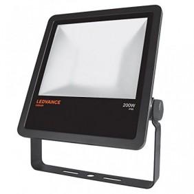 Proiettore Osram Ledvance 200W 4000K nero IP65 20.000LM FLOOD200840B