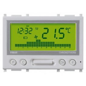 VIMAR PLANA THERMOSTAT FOR ELECTRONIC BATTERY