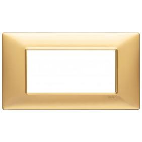 Vimar Plana placca 4 moduli colore oro opaco...