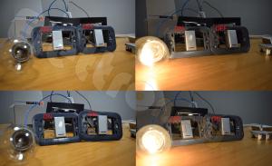 Schema Elettrico Per Accendere Una Lampada Con Due Interruttori : Come accendere una lampada da due punti con deviatore
