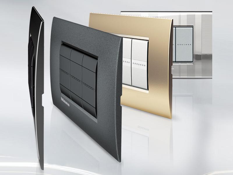 Bticino livinglight air guida all 39 acquisto materiale elettrico - Interruttori living light ...